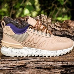 NIB New Balance Trailbuster Tan Purple Men's 12